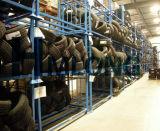 Puder-Beschichtung-Lager, das LKW-Speicher-Reifen-Racking stapelt