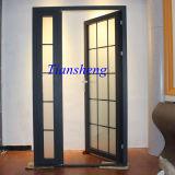 Дверь французской двери алюминиевого сплава красивейшая нутряная
