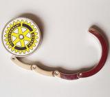 Curvatura de suspensão com a decoração da HOME da etiqueta da impressão e a jóia da forma