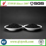 Carbono ativado baseado em carvão triturado