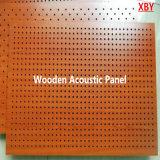 Painel acústico de madeira da placa acústica acústica do teto da placa do teto para a igreja