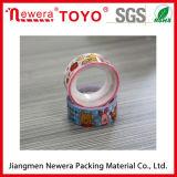 La insignia adhesiva fuerte imprimió la cinta del embalaje del uso BOPP del lacre del cartón