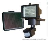 Lámpara solar accionada nueva llegada del temporizador de la seguridad de 60 LED