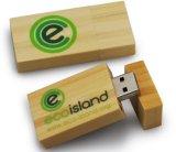 Movimentação instantânea do USB 3.0 maiorias do USB 2.0/da movimentação do flash do USB da madeira da promoção