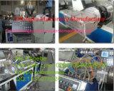 Teto do painel do PVC que faz a máquina/PVC a linha de produção plástica do perfil