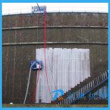 Limpieza modificada para requisitos particulares de la superficie del tubo de acero de la máquina del chorreo con granalla