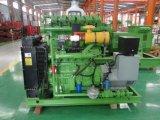 循環水冷却を用いる評価される力500kwのBiogasの発電機