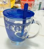 Taza de cristal Kb-Hn0727 de la buena calidad de la cristalería de la taza de la taza de la taza de cerveza