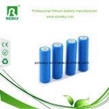 18650 3.7V 2600mAh zylinderförmige Lithium-Ionbatterie-Zelle für E-Fahrrad Lichter