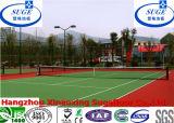 학교 테니스 훈련에 의하여 중단되는 모듈 스포츠 지면