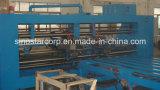 Máquina de costura da caixa ondulada da Dobro-Cabeça