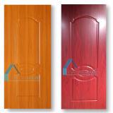 Puerta moldeada estilo clásico de la melamina para la puerta interior del sitio de la casa