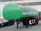 39000L 3 차축 2 3개의 격실 연료 유조선