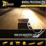 採鉱の振動装置の重力の金の鉱石の分離器のシェーカーは機械装置を台に置く