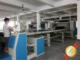 Textilfertigstellungs-Maschinerie-geöffnetes Breiten-Verdichtungsgerät für das Baumwollgewebe, das Prozess vorkrimpt