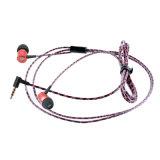 마이크를 가진 선전용 금속 입체 음향 이어폰