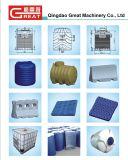 ブロー形成または鋳造物機械のためのプラスチック道の障壁型か型