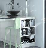 Hoher glatter UVlack-Küche-Schrank (zz-076)