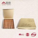 Schokoladen-Kasten/runzelte Kasten/Flöte-Kasten/Karton-Kasten/steifen Kasten/Papierkasten/Geschenk-Kasten