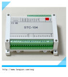 Module d'entrée-sortie de Tengcon Stc-104 RTU avec l'entrée 8analog et le rendement 4analog