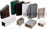 Le profil en aluminium/a expulsé le profil en aluminium pour le guichet/porte/rideau