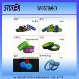 Wristband/braccialetto differenti di generi di promozione poco costosa da vendere