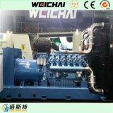 Сила серии двигателя дизеля Китая 500kVA Baudouin производя установленную фабрику