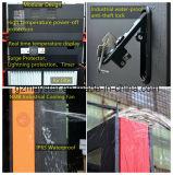 3G WiFi Netz im Freien Monitor LCD-Comercial