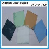 """Vetro """"float"""" riflettente per il vetro della costruzione/il vetro decorativo con Ce & ISO9001"""