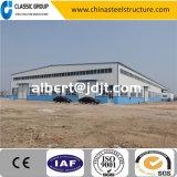 Magazzino industriale diVendita/gruppo di lavoro/capannone/fabbrica della struttura d'acciaio di basso costo