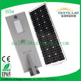 80W All in Ein LED Solar Street Light für Outside