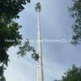 GSM 원거리 통신 강철 Monopole Antennatower