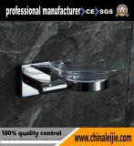 Accessoire sanitaire de salle de bains d'assiette de savon d'acier inoxydable