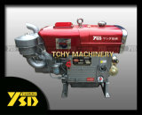 15HP Water Cooled Single Cylinder Diesel Engine com Electric Começo (ZS1100M)
