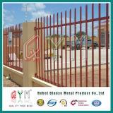 鋼鉄柵Fencing/8X8の塀Panels/1.8m PVC上塗を施してある機密保護の柵の囲うこと