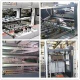 Automatisches Vorlagenglas-Stempelschneiden u. faltender Karton-Kasten Maschine herstellend