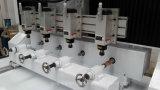 Máquina Multi-Spindle modificada para requisitos particulares del ranurador del CNC del eje del motor servo 4