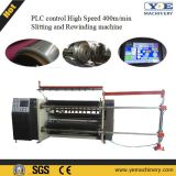 PLC steuern aufschlitzende Maschine für Kurbelgehäuse-Belüftung, Haustier, OPP Plastikfilm