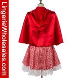 Erwachsene Halloween-Partei-Abendkleid Rotkäppchen Cosplay Kostüm für Frauen