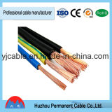 Fil de cuivre de PVC de conducteur échoué par amende de câble souple de rv