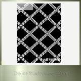 Плита нержавеющей стали отделки зеркала цвета черная для строительного материала