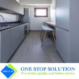 Graue und weiße hohe Glanz-Lack-Ende-Küche-Schrank-Möbel (ZY 1164)