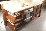 Dessins de cuisine en bois classiques personnalisés pour la décoration de cuisine