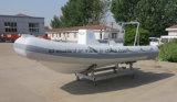 Aqualand 16feet 4.8mの肋骨のダイビングのボートか堅く膨脹可能なコーチのボートまたはレスキューまたはパトロール(rib480t)