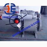 Valvola a sfera elettrica montata perno di articolazione della flangia dell'acciaio di getto dell'azionatore di API/ANSI