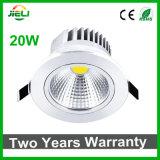 Techo Downlight de la MAZORCA LED del poder más elevado 20W AC85-265V