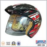 Motorcrossまたはオートバイの特別な銀製のヘルメット(OP215)