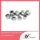 Forte anello personalizzato NdFeB/neodimio di N35 N38 a magnete permanente nella fabbrica della Cina