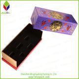 クリスマスのリボンの閉鎖が付いているFoldable包装のギフト用の箱