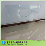 Drilling Holes를 가진 Equipment를 위한 특별한 Shape Tempered Decorative Glass Panel